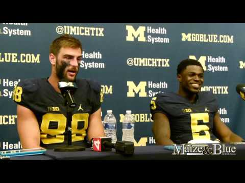 Jake Butt, Jabrill Peppers post-Colorado presser