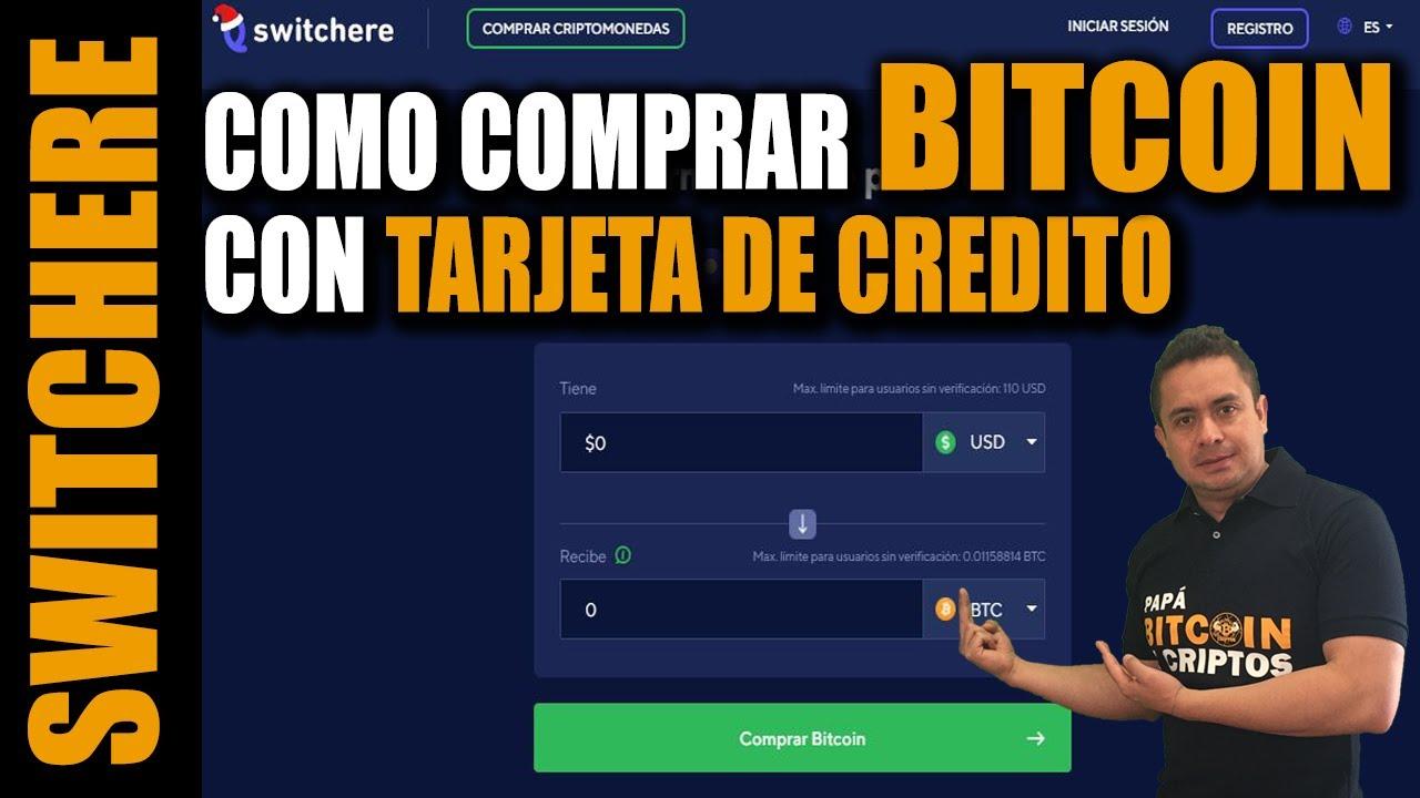 comprar bitcoin con tarjeta credito beneficio de crypto 5k