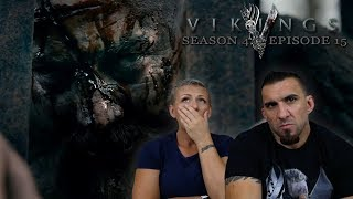 Vikings Season 4 Episode 15 'All His Angels' REACTION!!