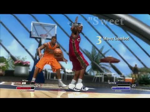NBA Ballers: Chosen One Xbox 360 Gameplay - Bron vs.
