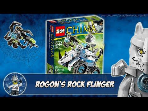 Обзор Lego Chima 70131 Rogon's Rock Flinger (Камнемёт Рогона)