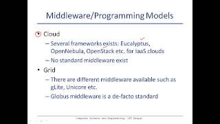Comparison of cloud with grid computing