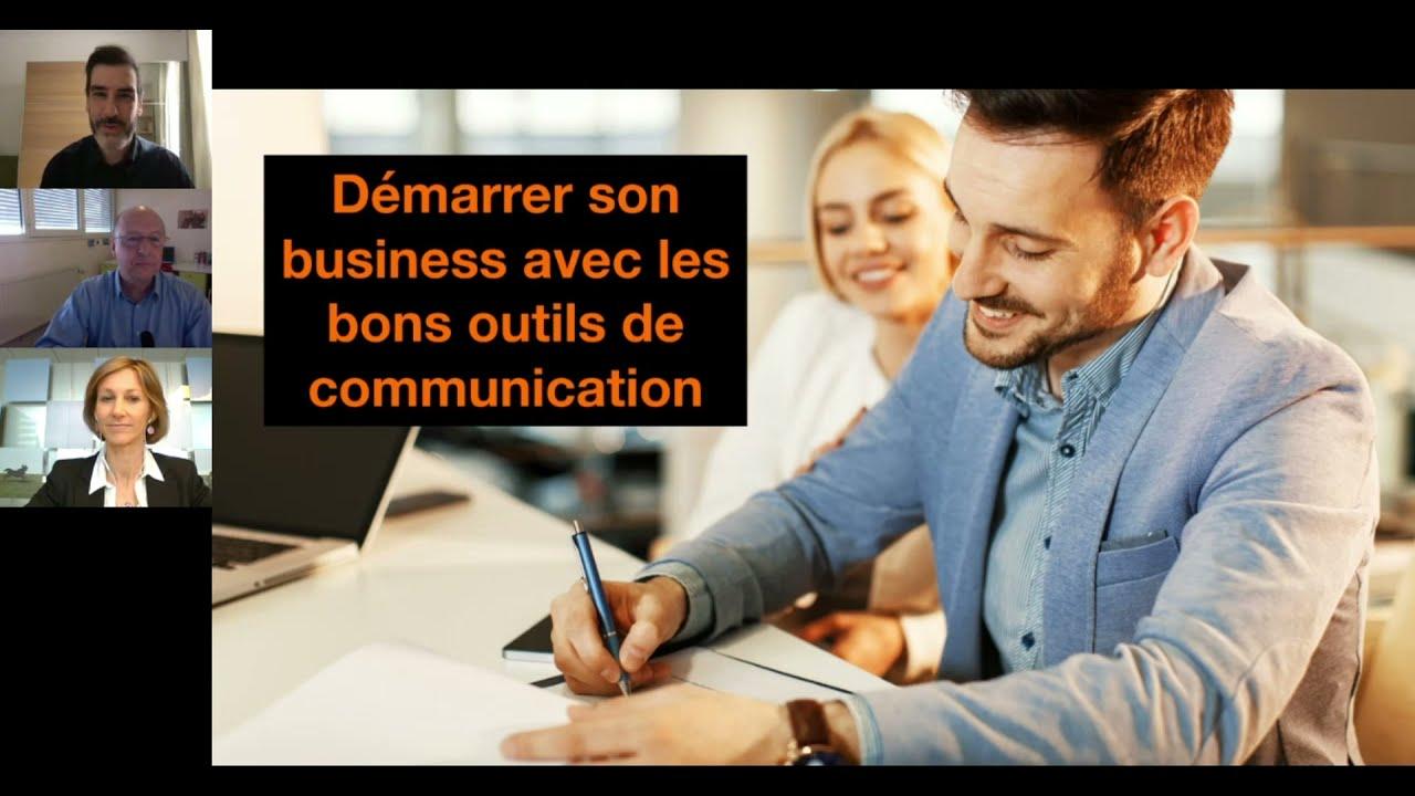"""Retrouvez le replay du webinar """"Démarrer son business avec les bons outils de communication"""""""