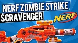 2018 NERF ZOMBIE STRIKE SCRAVENGER Blaster