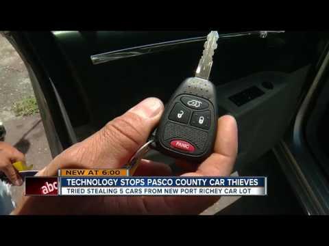 Technology stops Pasco Co. car thief