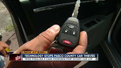 Technology stops Pasco Co. car thief