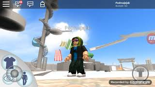 I went to the Roblox water park