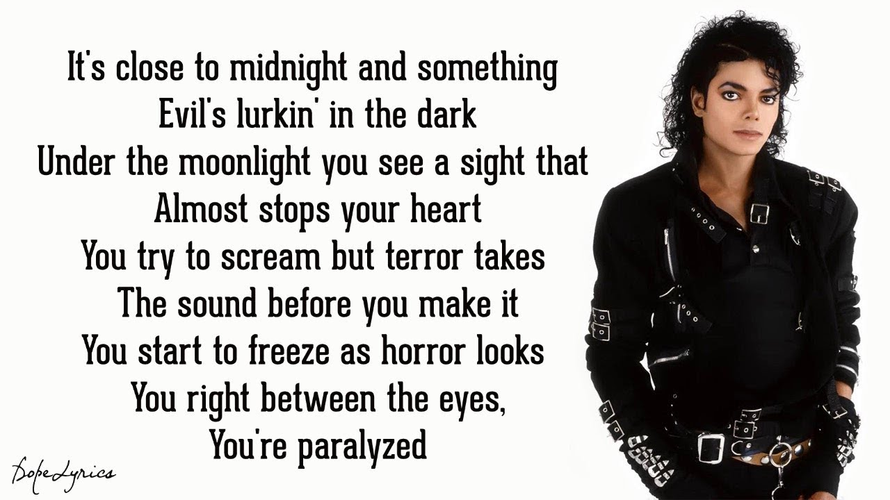 Download Thriller - Michael Jackson (Lyrics)