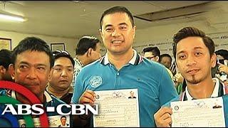 TV Patrol: Jhong Hilario, dinumog ng fans sa paghahain ng COC