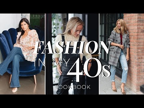 Fashion In My 40s Lookbook  Fashion Over 40