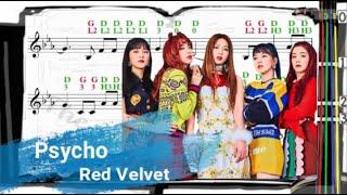 Psycho   Red Velvet   Violin SHEET MUSIC [With Fingerings] [Level 4]