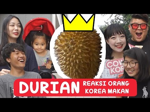 [SUB] KOREANS Try DURIAN for the First time l Challenge Eat Reaction l KOREAN GUY