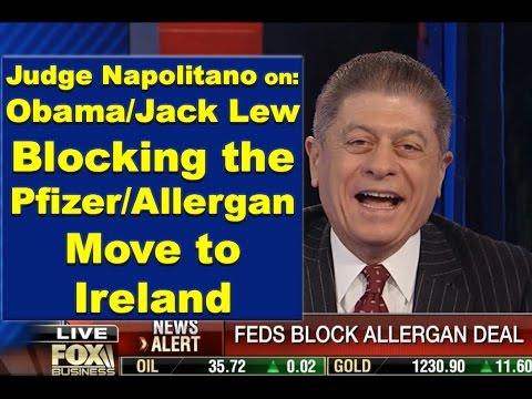 Judge Andrew Napolitano on U.S. Govt Fighting Pfizer