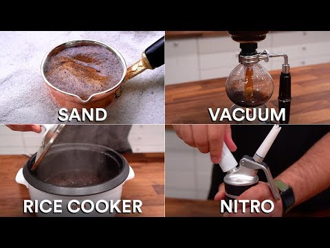 Every way to MAKE COFFEE (15 Methods)   Sous Vide Everything