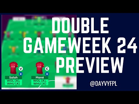 WHY YOU SHOULD TRIPLE CAPTAIN! FPL DOUBLE GAMEWEEK 24 PREVIEW! FANTASY PREMIER LEAGUE 2019/2020!