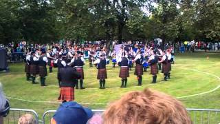 2011 World Pipe Band Championships, Glasgow - Scottish Borders Pipe Band