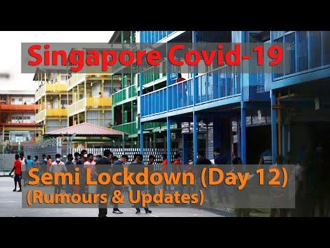 Singapore Covid-19 Circuit Breaker Day 12 (Semi Lockdown)