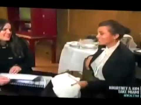 Kardashian sisters VAGINA smell test