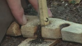 How To Make A Fire Using Sticks