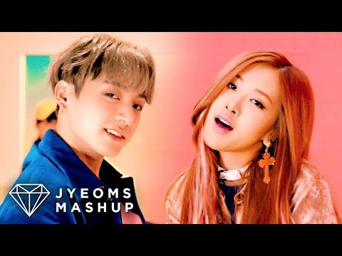 BTS & BLACKPINK  DNA X 휘파람 WHISTLE MASHUP