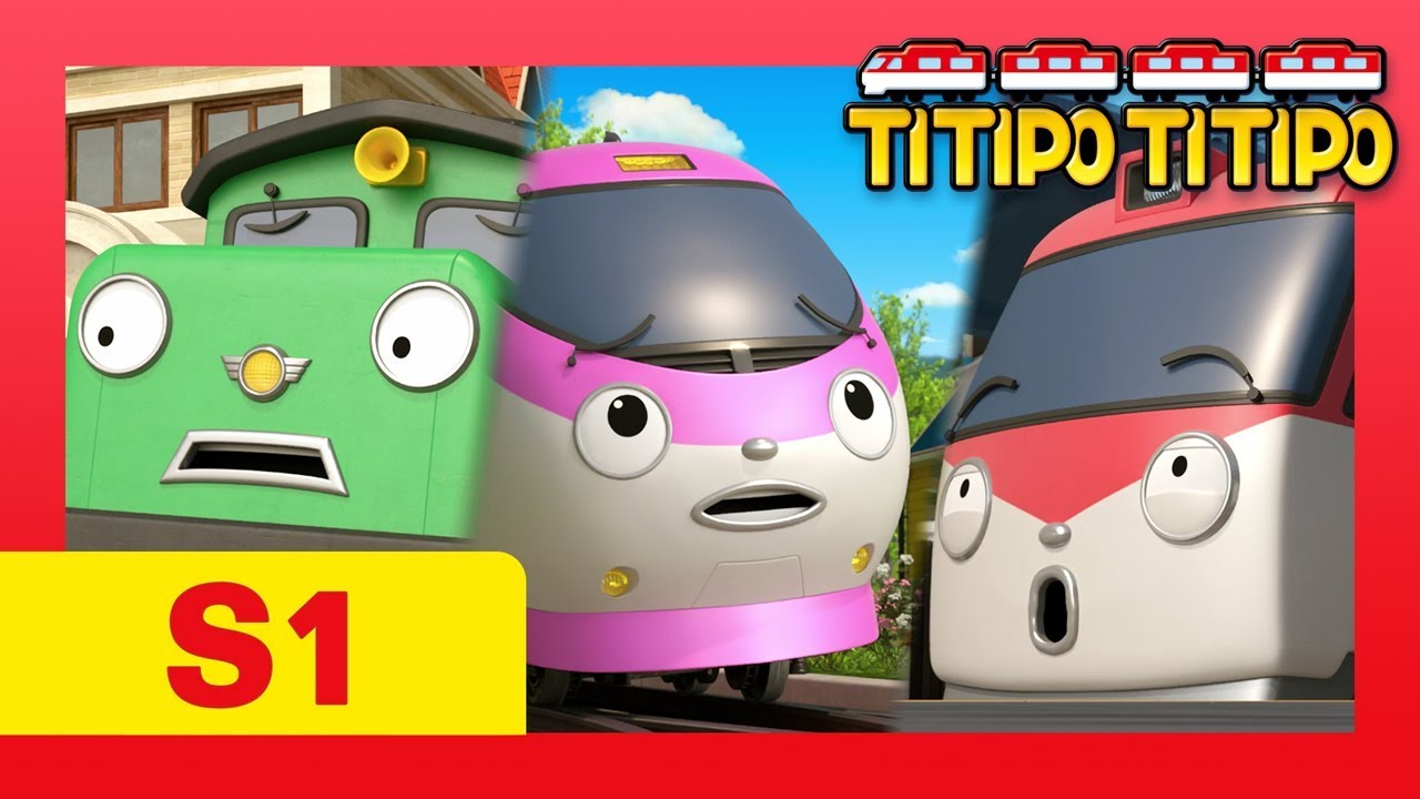TITIPO S1 #1-13 l Meet all episodes of TITIPO and train friends! l Trains for kids l TITIPO TITIPO