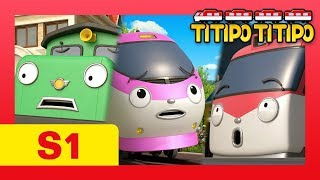 Titipo S1 #1-13 L Meet All Episodes Of Titipo And Train Friends! L Trains For Ki
