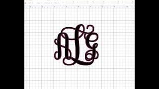 Monogram olan önceden hazırlanmış widget'ları Tasarım Alanı Öğretici: Oluşturma Gölge