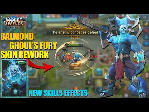 BALMOND GHOUL'S FURY SKIN REWORK - New Skills Effects and Animation (Mobile Legends)