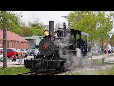 [4K] Maine Narrow Gauge Steam Fest 2018 - 60 fps