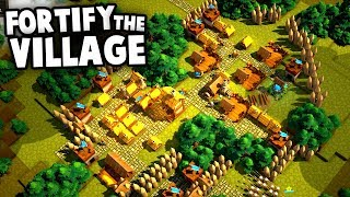 DEFEND The Fortress!  NEW Kingdom Builder (Valeguard Gameplay)