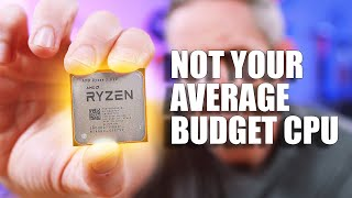 This budget CPU doesn't know it's a budget CPU!