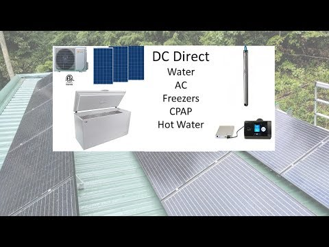 Solar Simplified:  No inverters!