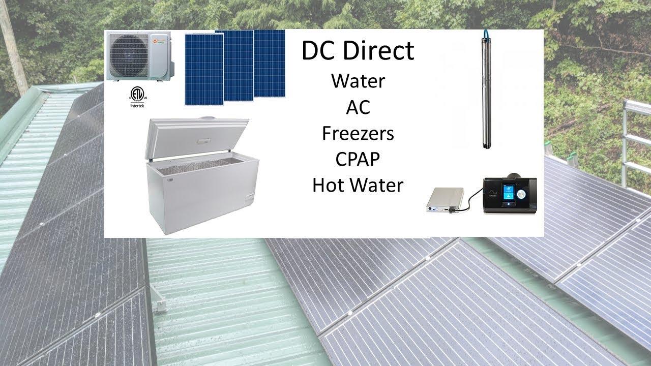 Solar Simplified:  No inverters!