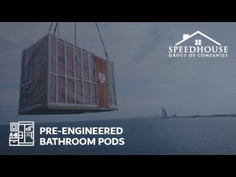 Bathroom Pods — Production Unit — The Pod Company — A Speed House Group Company