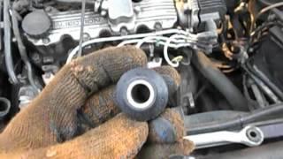 Замена сайлентблока рулевой тяги Opel Vectra A