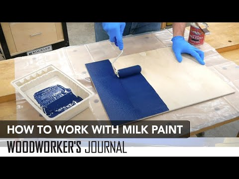 How to Apply Milk Paint | Painting Furniture