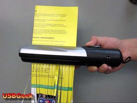USB Portable Paper Shredder