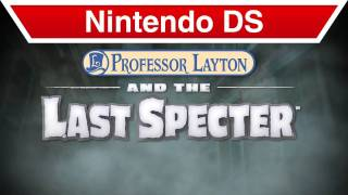 Nintendo DS - Professor Layton and the Last Specter E3 Trailer