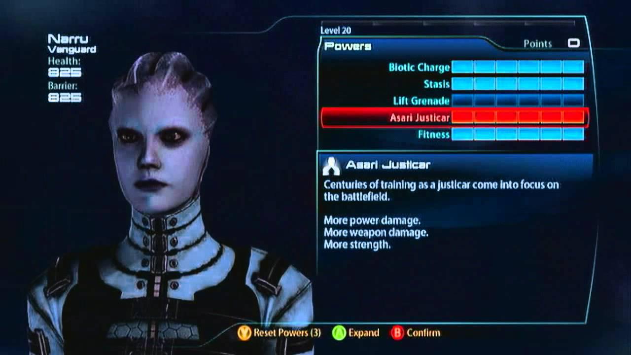 Mass Effect  Vanguard Build