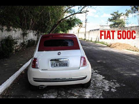 Avaliação Fiat 500C | Canal 4Drivers