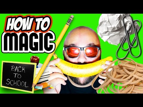 5 Back To School Magic Tricks - How To Magic!