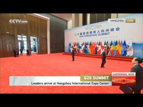 Live G20 summit Chinese 2016 Ep.1