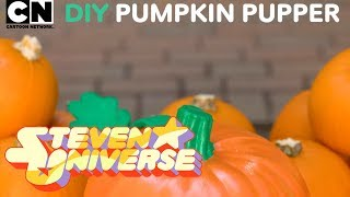 Steven Universe | Halloween DIY Pumpkin Pupper! | Cartoon Network