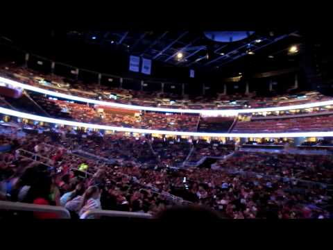Amway Center before One Direction's concert