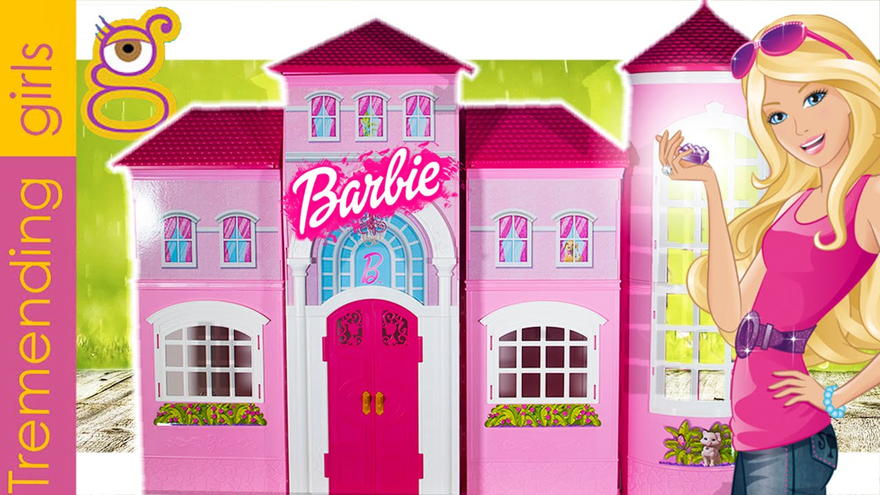 Barbie mansi n malib barbie casa malib juguetes - Supercasa de barbie ...
