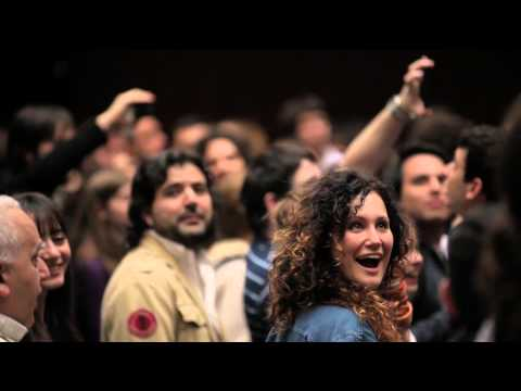 Flash Mob en TEDxRiodelaPlata 2013 - El Brindis de la Traviata de Verdi