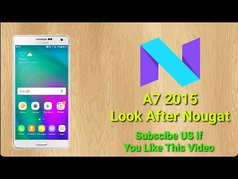 A7 2015 After Android Nougat 2017- SStech