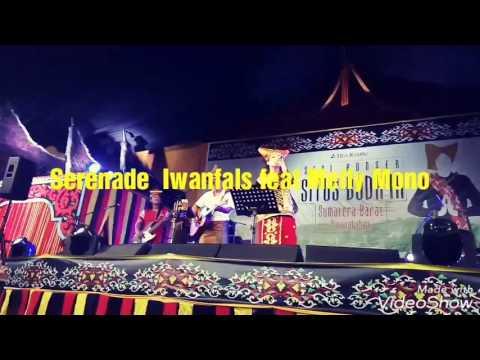 Konser situs Minangkabau, (Fals vs Melly Mono) SERENADE live video Full PanggungKita.