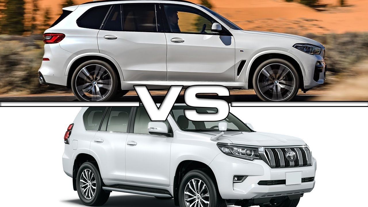2019 Bmw X5 Vs 2019 Toyota Land Cruiser Prado Technical