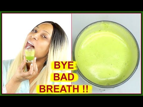 GET RID OF BAD BREATH NATURALLY AND INSTANTLY   SAY NO TO BAD BREATH  Khichi Beauty
